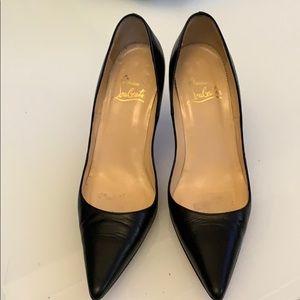 Christian Loboutin heels.